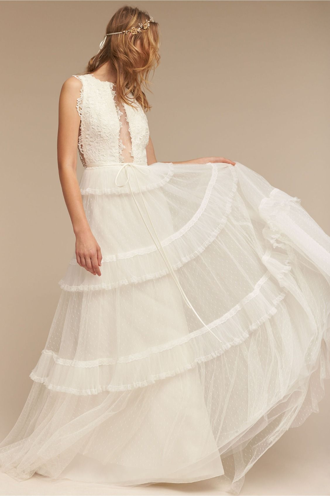 boho with a twist | Amaya Gown from BHLDN | The Bohemian Bride ...