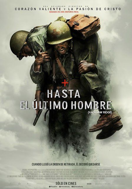 Poster Latino de HASTA EL ÚLTIMO HOMBRE https://t.co/xOZAMjTMSx