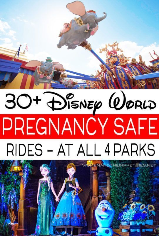 30 Walt Disney World Rides that are safe while pregnant  A list of ALL pregnancy safe rides at Disney World Parks in Orlando Going to Disney while pregnant can still be f...