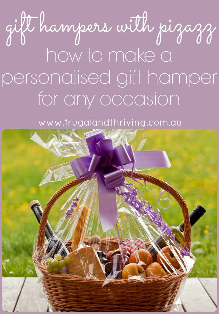 How to make a personalised gift hamper for any occasion gift hampers dont have to be impersonal last minute gifts for an exceptional gift negle Choice Image