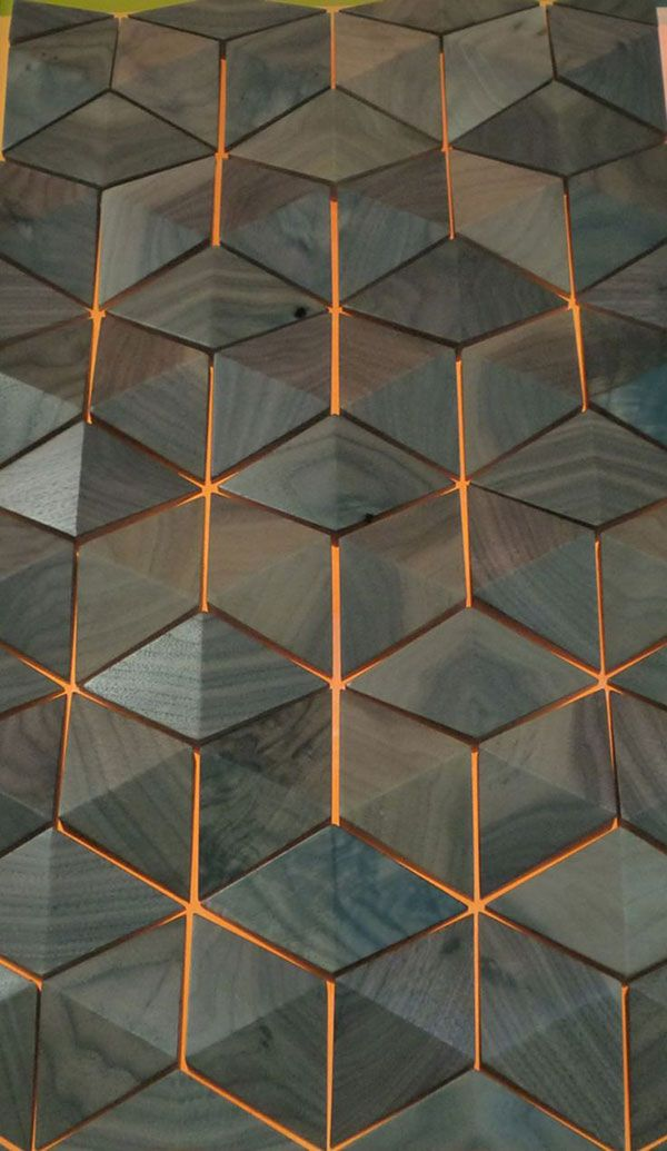 Futuristic Interior Design 20 Polygonal And Geometric Objects You Ll Love Futuristic Interior Wall Design Textures Patterns