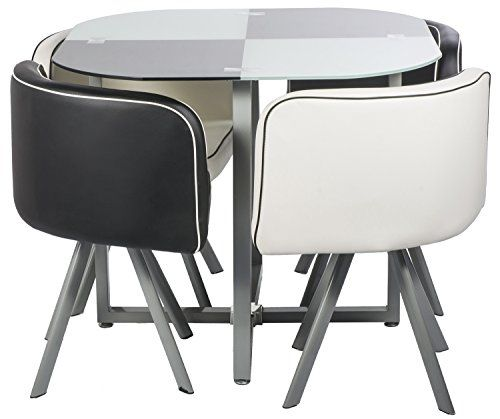 Cheap Sturdy Furniture: Dining Table, 5 Piece Dining