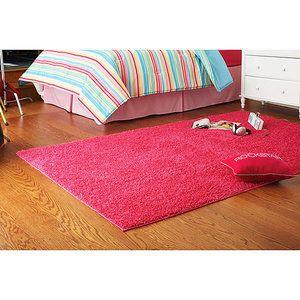 Alfombra Rainbow Area para habitaci/ón de ni/ños suave y c/ómoda alfombra peluda y esponjosa para la decoraci/ón de la sala de estar del dormitorio del hogar