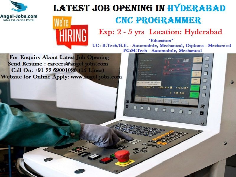 Latestjobsopenings In Hyderabad Vacancyinhyderabad Careers