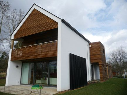 maison unifamiliale surface habitable 250 m mat riaux structure sbn toiture ardoises. Black Bedroom Furniture Sets. Home Design Ideas