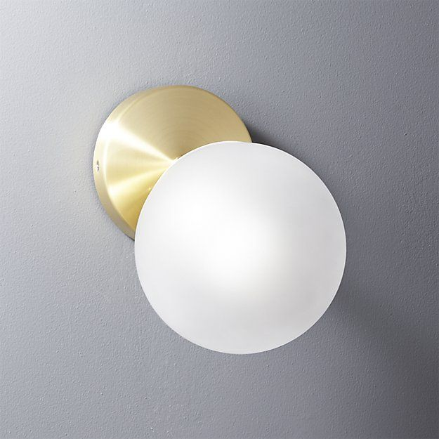 Swell Cb2 Vega Bath 1 Bulb Brass Wall Sconce In 2019 S T O R E S Home Interior And Landscaping Fragforummapetitesourisinfo