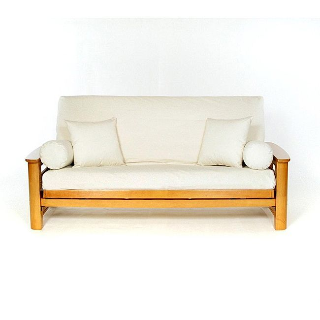 Cover Your Full Size Futon Stylishly With This Comfortable Cotton Slip