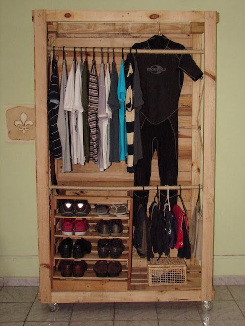 Guarda Roupa Portas De Correr: Best 25+ Guarda Roupa De Palete Ideas On Pinterest