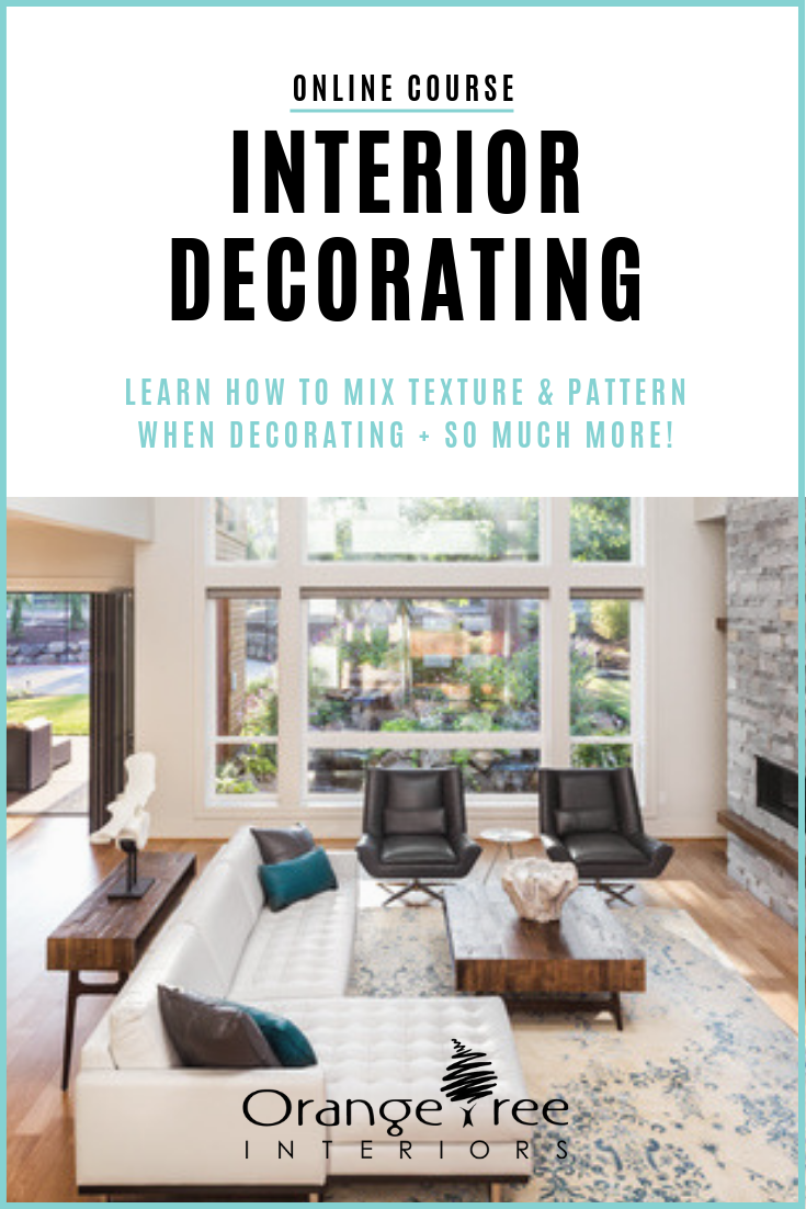 Have You Started A Decorating Project And Need Some Tips On How To Mix Texture And Patterns Check Interior Design Courses Interior Design Diy Interior Design
