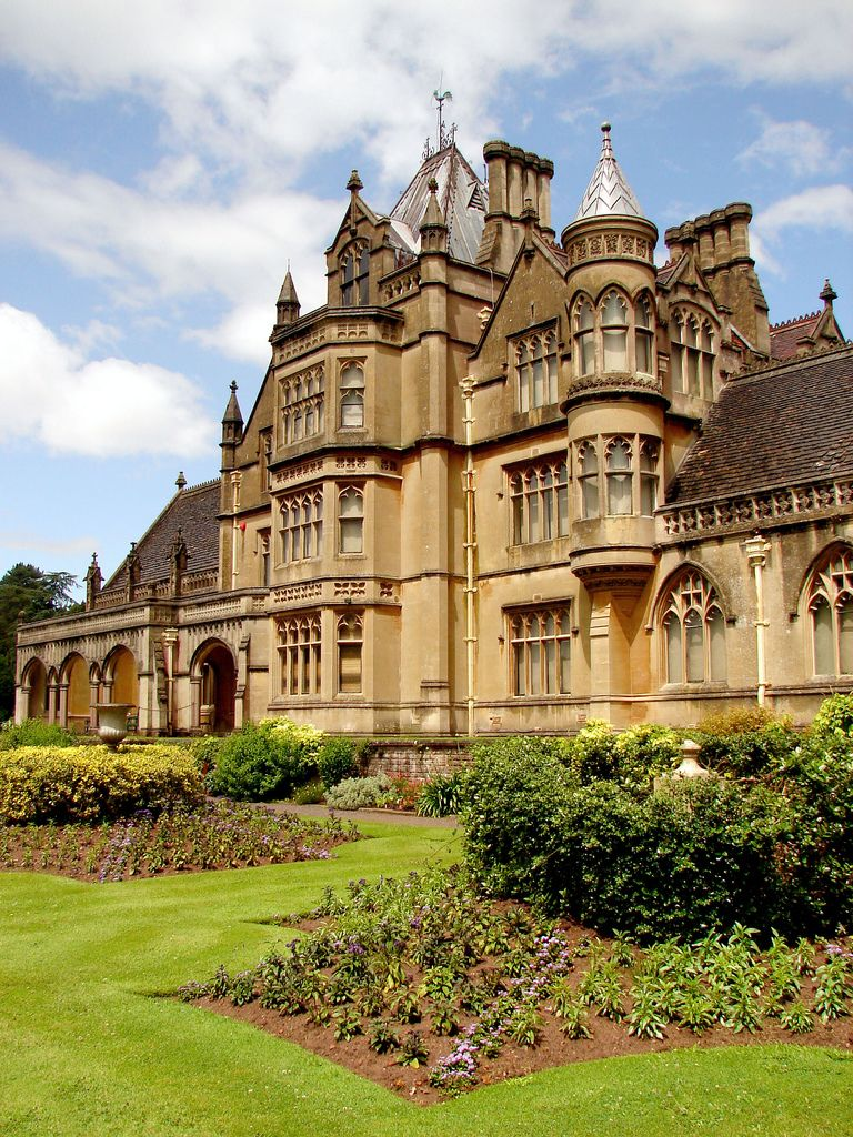 Tyntesfield Somerset Victorian Castle English Manor Houses Castle House
