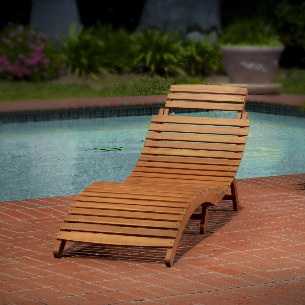 Wooden beach lounge chair - Beach Chairs Chaise Lounge Folding Wood