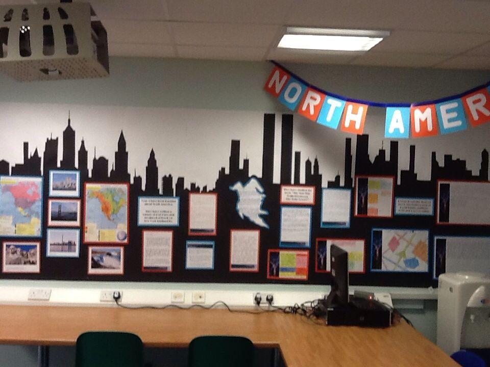 New York skyline Ideas for Classroom display Pinterest
