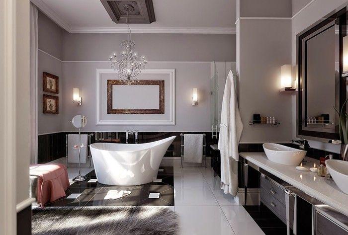 Freistehende Badewanne Badezimmer Ideen 11 | Badezimmer Ideen ... Freistehende Badewanne Designs Ideen