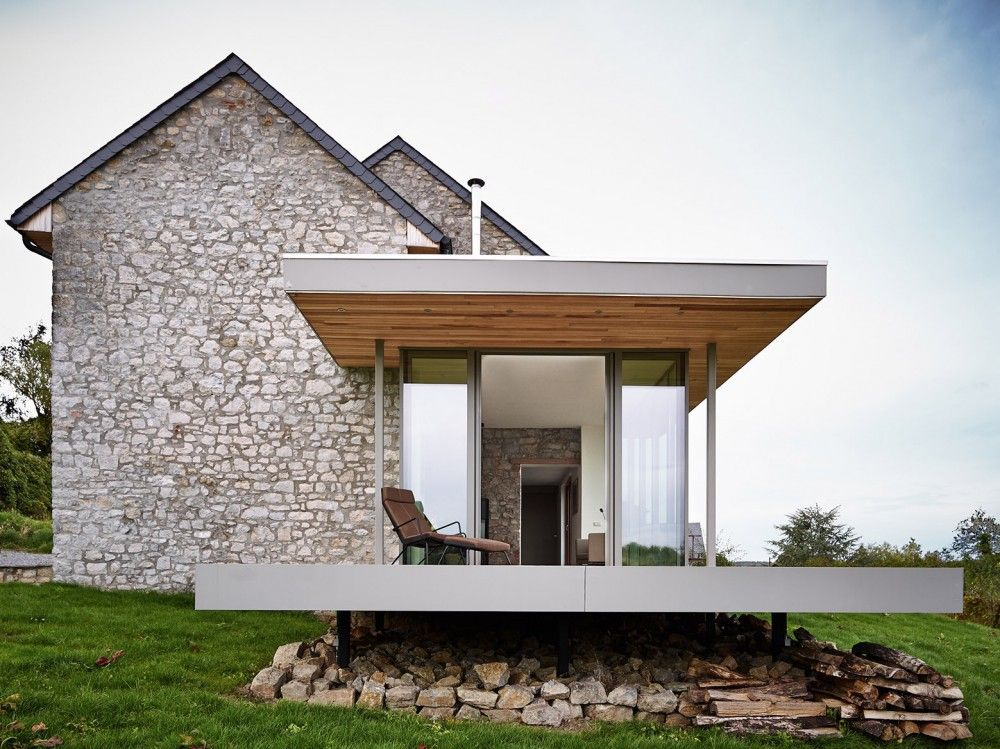 Renovation Extension Of A Holiday House Dehullu