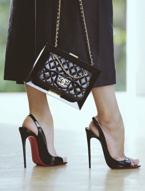 Gorgeous Chanel and Louboutin