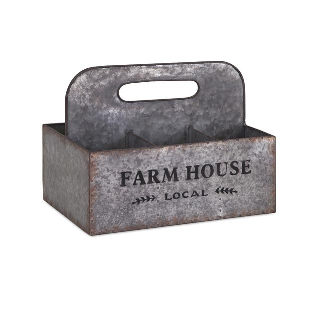 Farm Living Caddy   Premier Home Decor