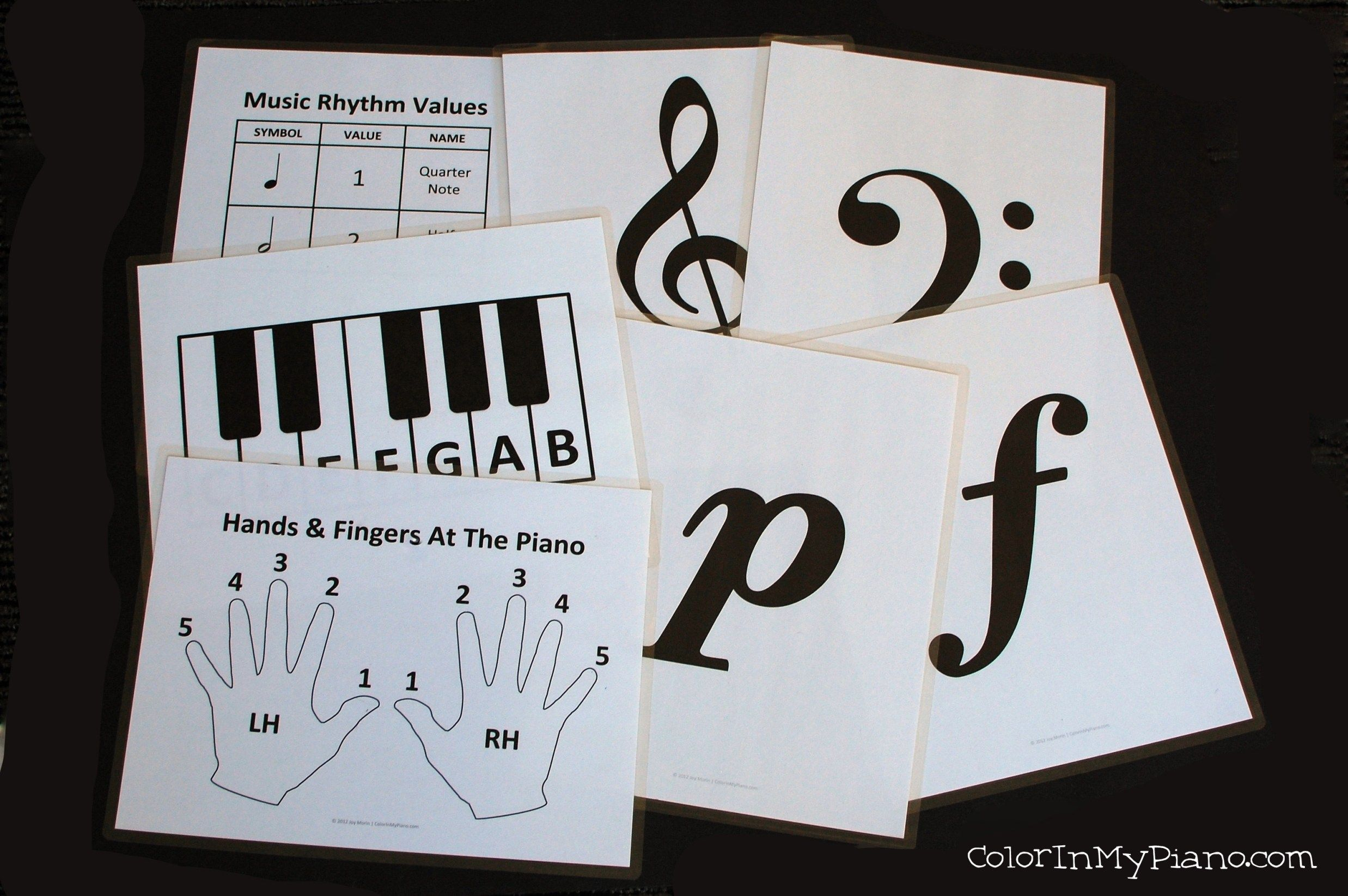 Free Printables For Piano