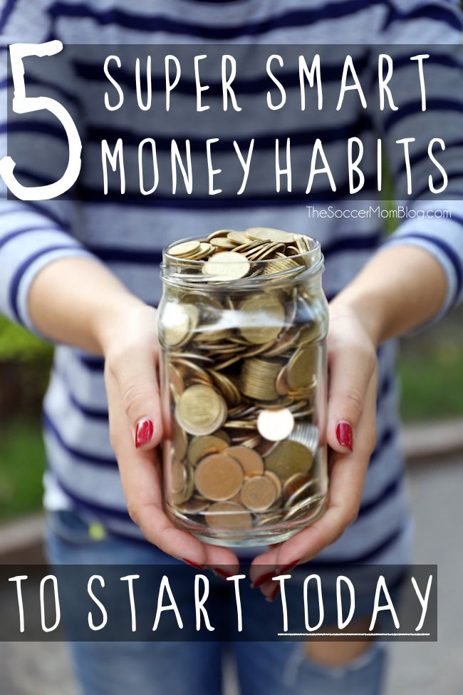 Stay Debt Free: 5 Super Smart Money Habits to Start TODAY #financenestegg