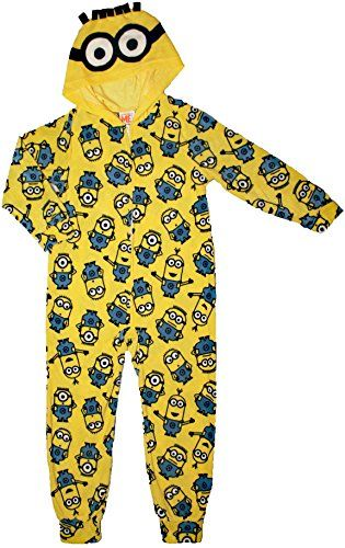 6cadbe23f Despicable Me Minion Boys One Piece Sleeper Fleece Pajama ...