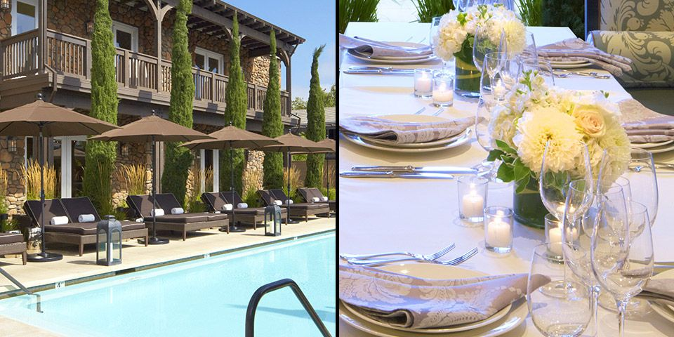 Yountville Hotels Hotel Napa Valley Luxury