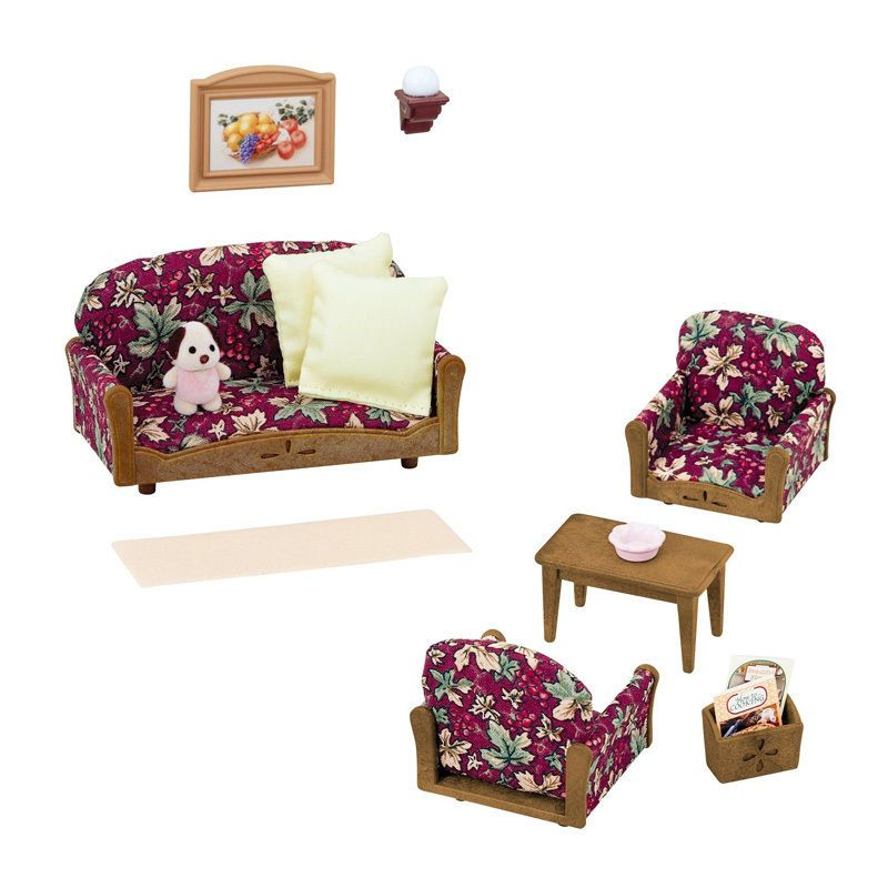 Sylvanian Families KA-509 Furniture Armchair Set Calico Critters