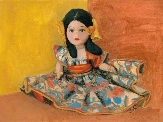 Spanish Doll Painted Fine Art Photo