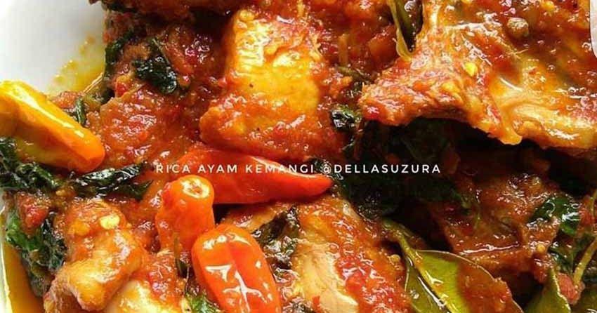 Ini Baru Resep Ayam Rica Rica Kemangi Yang Wangi Enak Empuk Dan Bumbunya Lazizzz Bikin Makan Nambah Terus Rica Ayam Kemangi By Del Resep Ayam Resep Makanan