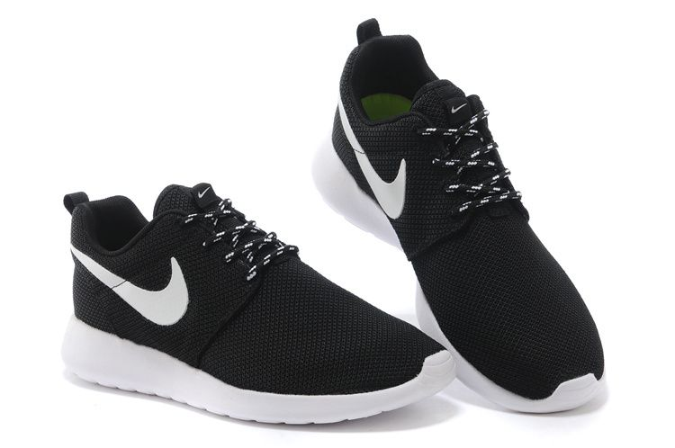 nike roshe run black white mesh shoes   Get in my closet!!   Pinterest cae7699adc