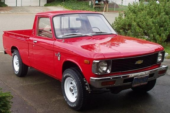 Adem 24 S 1980 Chevrolet Luv Pick Up In Kent Wa Chevy Luv Chevrolet Mini Trucks