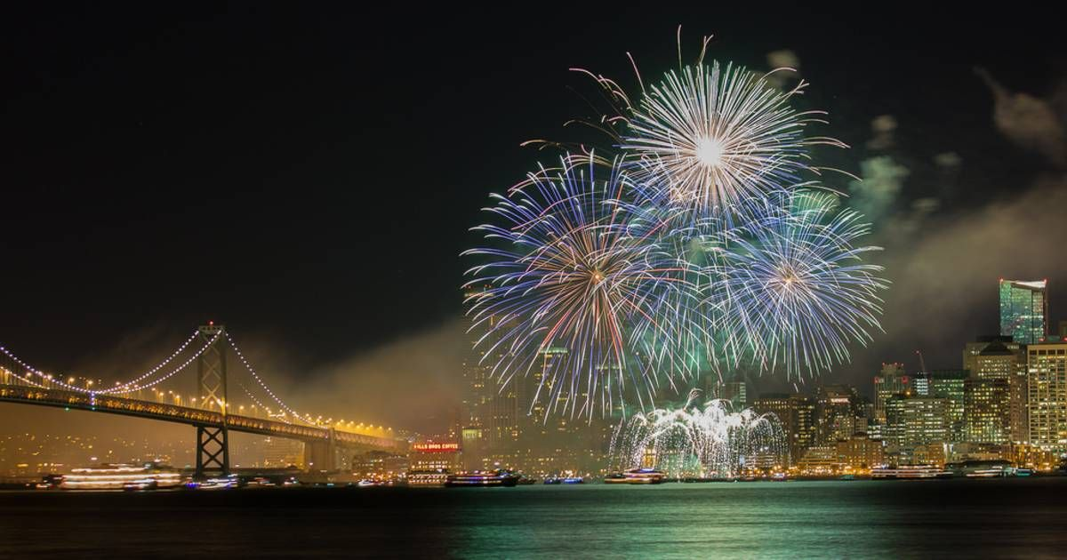 New Year's Eve Fireworks 20202021 in San Francisco