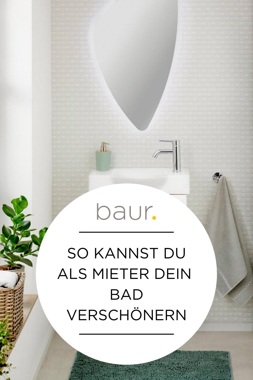 Badezimmer in Mietwohnung verschönern   entdecke auf baur.de ...