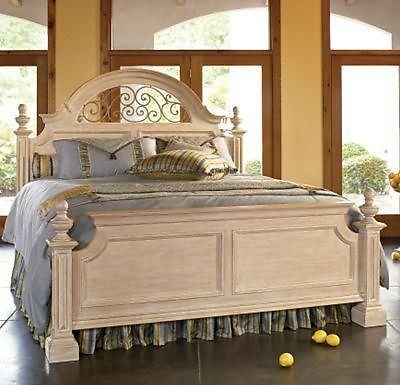 Thomasville Furniture Costa Blanca Queen Panel Bed 43911 415