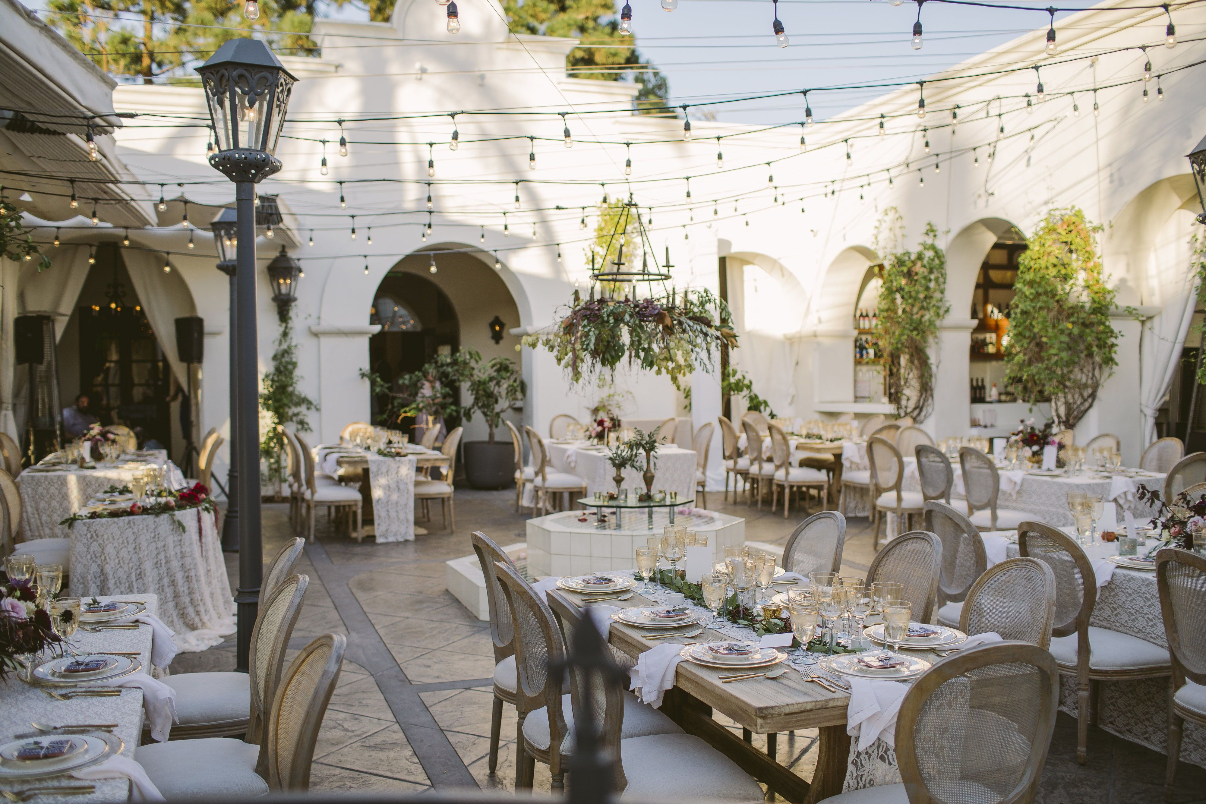 Autumn wedding in downtown santa barbara photography by