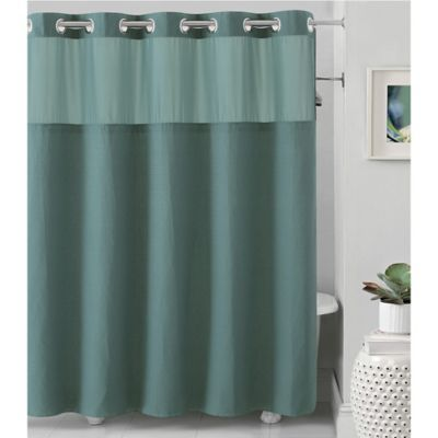 Hookless Waffle Products Fabric Shower Curtains Hookless