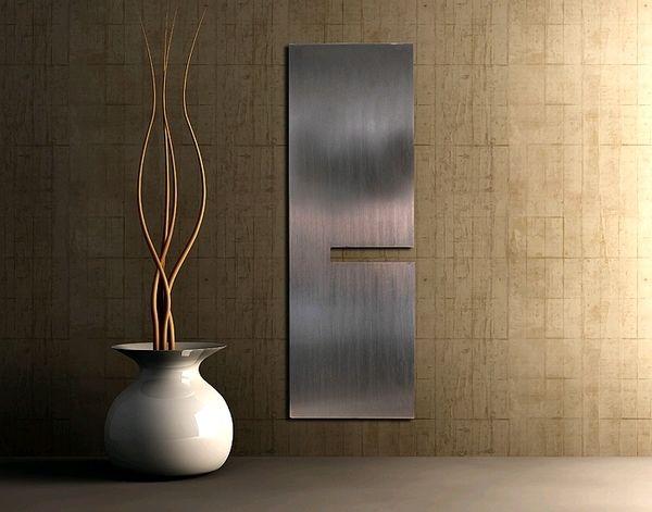 GROPIUS Elegant en stijlvolle woonkamer radiatoren, verticale design ...