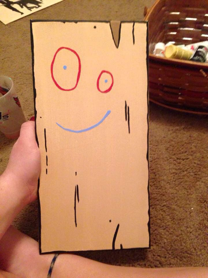 Plank From Ed Edd N Eddy Canvas Painting With Images Edd Ed