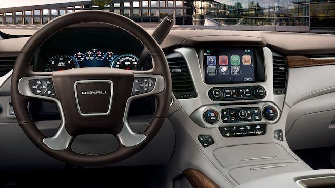 Interior Gallery Image Featuring The 2019 Gmc Yukon Denali Full Size Luxury Suv Camionetas