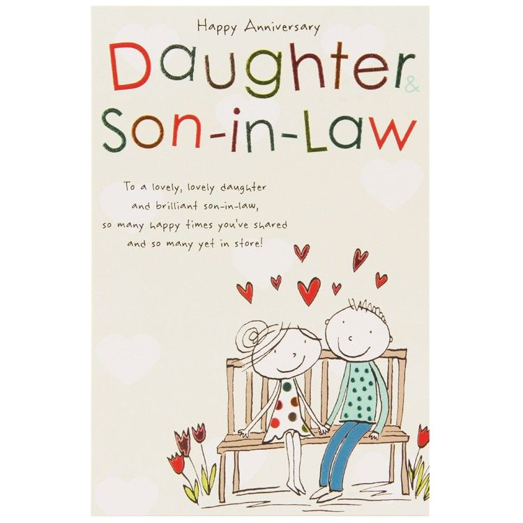 Anniversary wishes for daughter and son in law cover