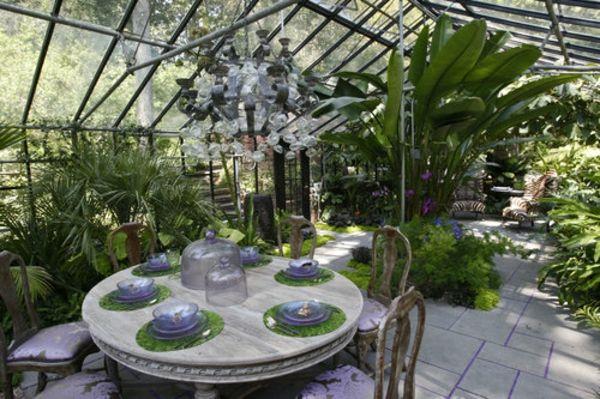 Wintergarten Design Ideen - eleganter Essraum | Wintergärten ...