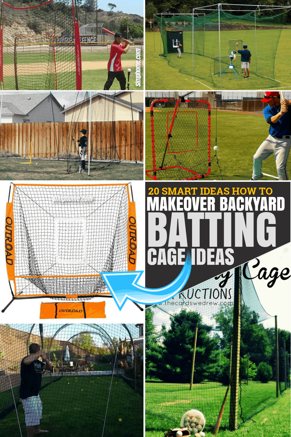 30 Smart Ideas How to Make Backyard Batting Cages ...