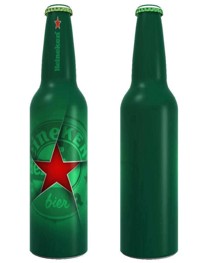 The Winning design for The Heineken Future Bottle 'Remix' Challenge by Fernando Degrossi.