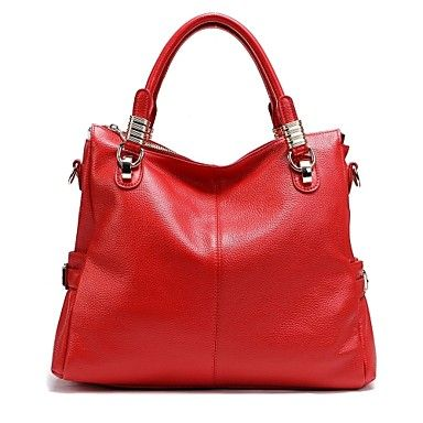 Paste®+Hot+Sale+Simple+Style+Woman+Genuine+Leather+Handbag+–+USD+$+49.65