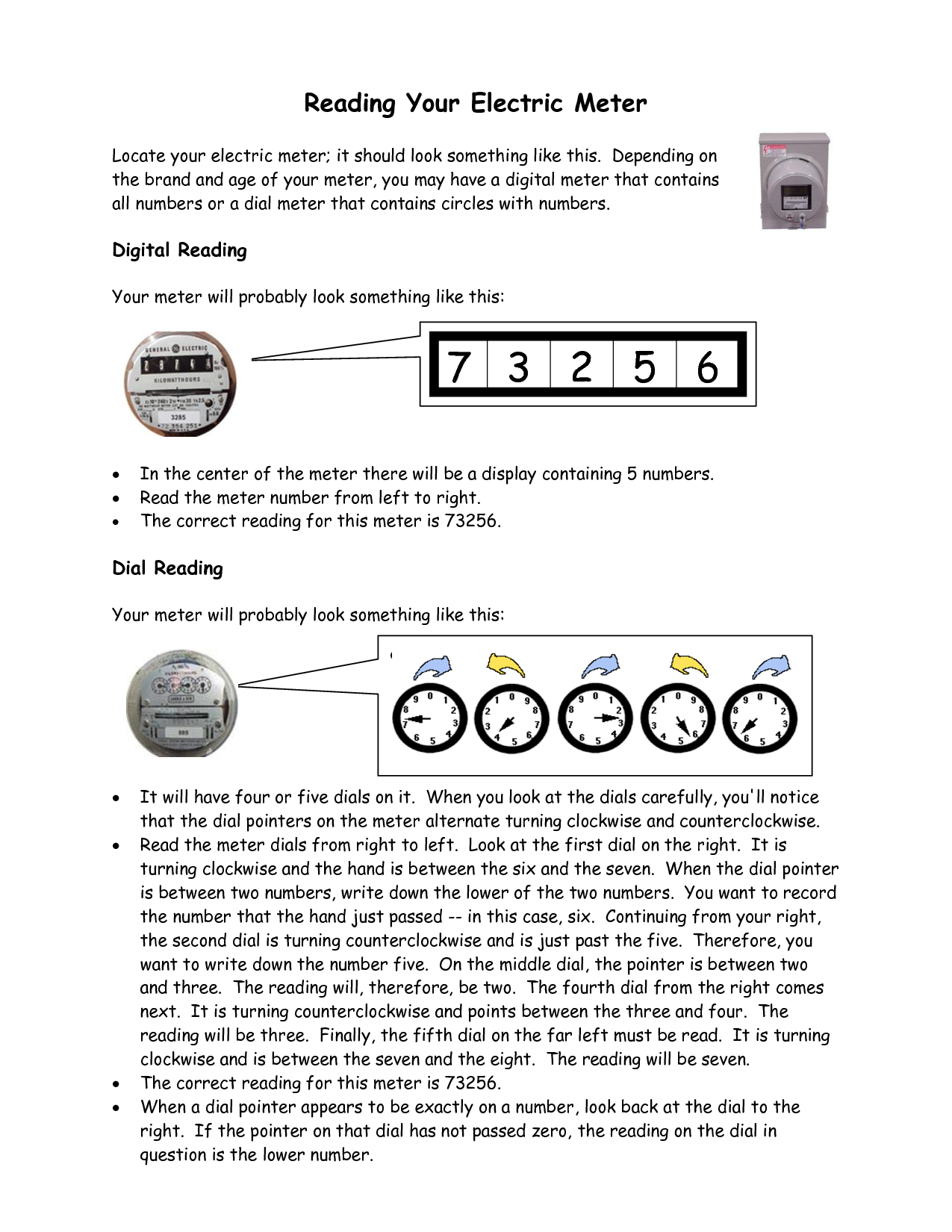 how to read a digital or dial electric meter wwwwhitefencecom