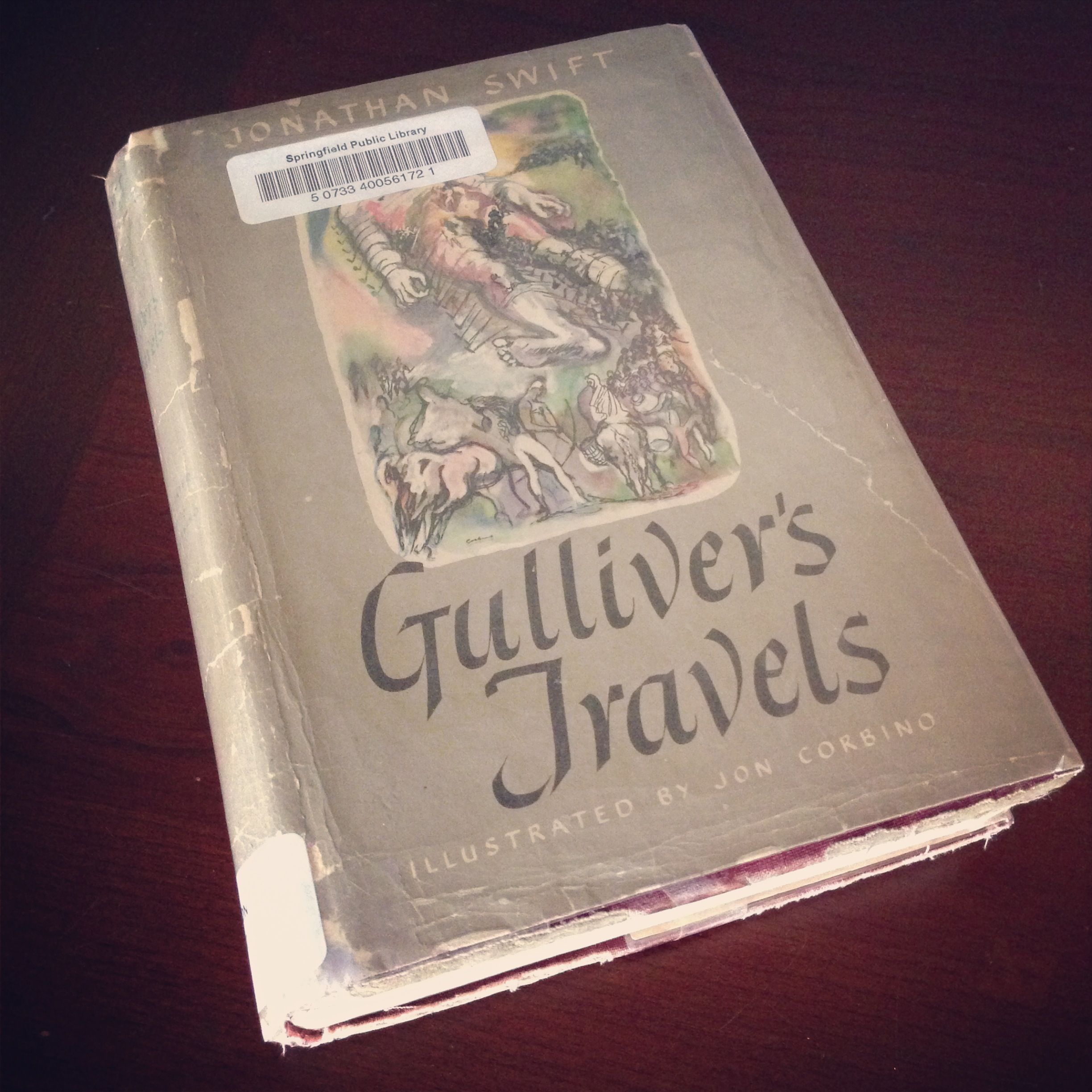 Gullivers travels by jonathan swift with images