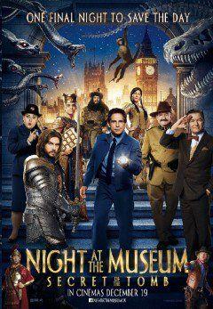 Phim Đêm Ở Viện Bảo Tàng 3: Bí Mật Hầm Mộ