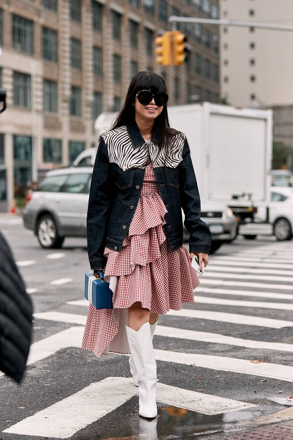 The Latest Street Style From New York Fashion Week  NewYork new