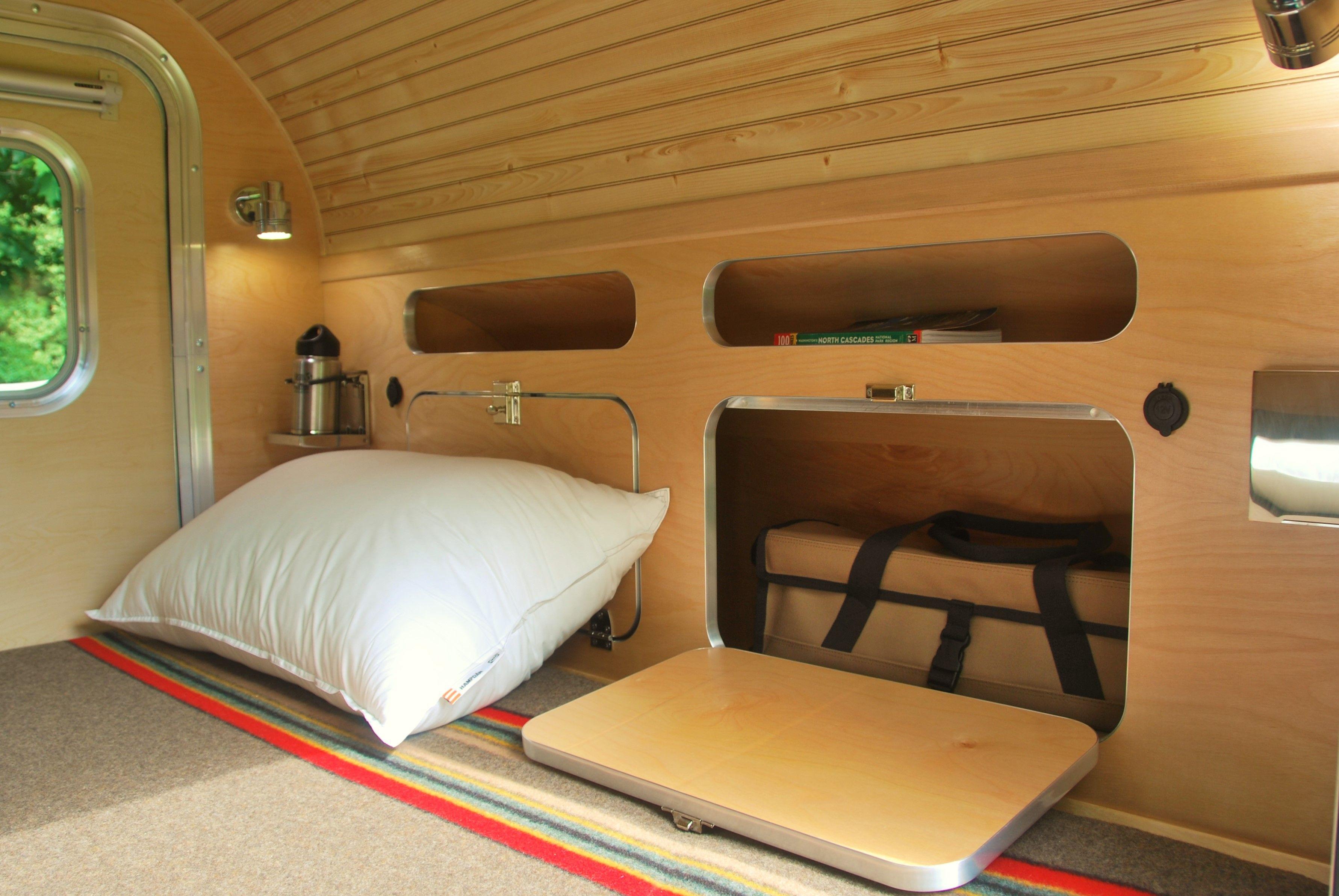 High Camp Trailers classic teardrop trailer built in Portland