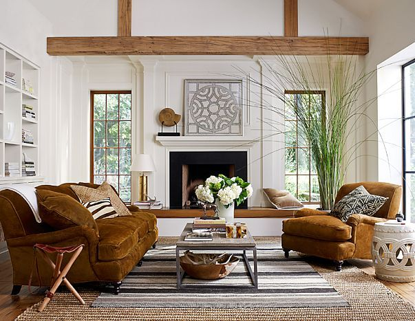 Modern Living Room With Rustic Accents. Several Proposals And Ideas Part 24