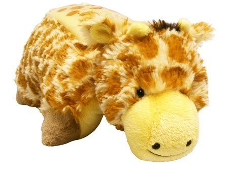 20 60 Amazon Com Pillow Pets Dream Lites Jolly Giraffe 11