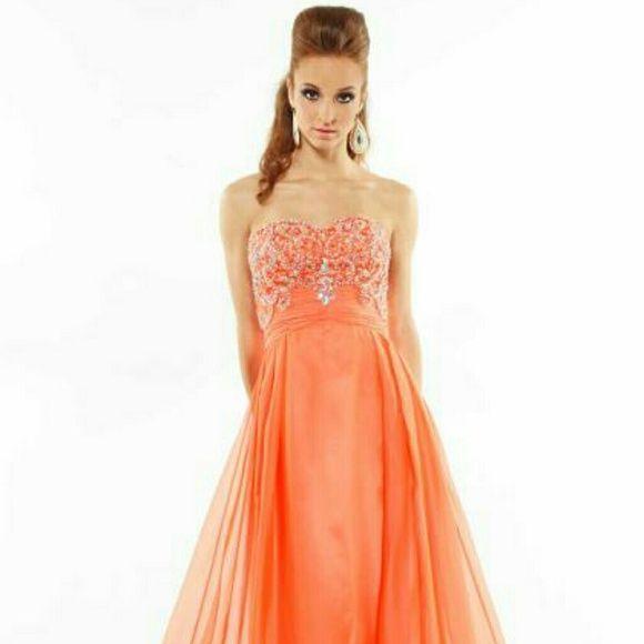 Riva designs prom dress NWT | Chiffon dress, Prom and Size 10
